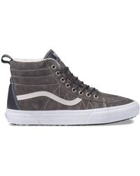 a80e7996bdb6a4 Lyst - Vans Unisex Sk8-hi Mte (mte) Honey leather Skate Shoe 7 Men ...