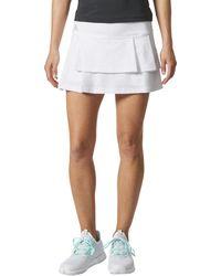 adidas - Advantage Layered Skirt - Lyst