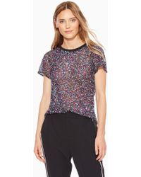 Parker - Anna Sequined Top - Lyst