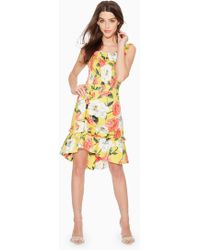 Parker - Coraline Floral Skirt - Lyst