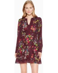 Parker - Brooke Floral Dress - Lyst
