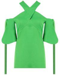 Ellery - Merthiolate Halter Neck Top Green - Lyst