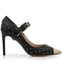 Valentino - Quilted Spike 90mm Heel Black - Lyst