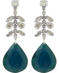 Isabel Marant - Crystal Embellished Drop Earrings - Lyst