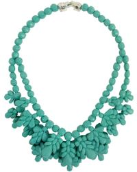 EK Thongprasert - Silicone Double Layer Neckpiece Mint Green - Lyst