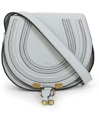 Chloé - Marcie Small Bag Airy Grey - Lyst