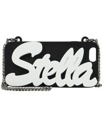 Stella McCartney 'stella' Falabella Chain Iphone 6 Case Black/white