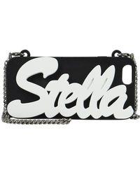 Stella McCartney - 'stella' Falabella Chain Iphone 6 Case Black/white - Lyst