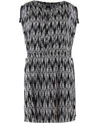 Isabel Marant - Galise Dress Jacquard Print Black - Lyst