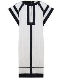 Isabel Marant - Etoile Riga Dress Ecru/black - Lyst