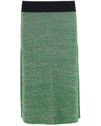 Isabel Marant - Calypso A-line Skirt Green - Lyst