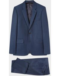 Paul Smith - The Soho - Tailored-Fit Navy Wool Suit - Lyst