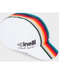 Paul Smith - Cinelli White 'Artist Stripe' Band Cycling Cap - Lyst
