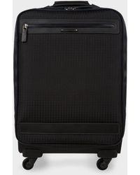 Paul Smith   Black 'jacquard Rabbit' Trolley Suitcase   Lyst