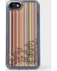 Paul Smith - 'Signature Stripe' iPhone 6/6S/7/8 Case - Lyst
