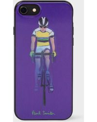 Paul Smith - Purple 'people Cyclist' Lenticular Iphone 6/6s/7/8 Case - Lyst