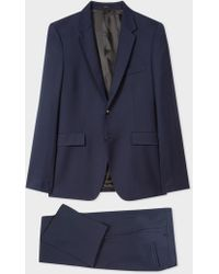 Paul Smith - The Kensington - Slim-Fit Navy Wool Suit 'A Suit To Travel In' - Lyst