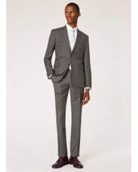 Paul Smith Slim-fit Charcoal Grey Wool Two-button Suit