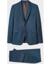 Paul Smith - The Kensington - Slim-Fit Dark Petrol Wool-Cashmere Suit - Lyst
