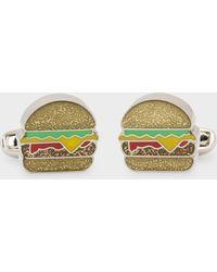Paul Smith - 'glitter Burger' Cufflinks - Lyst