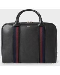 Paul Smith - Men's Black Leather 'city Webbing' Slim Folio - Lyst