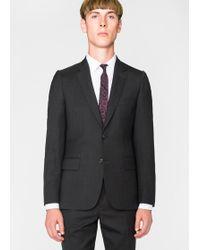 Paul Smith - Blazer Homme 'A Suit To Travel In' Gris Charbon Coupe Ajustée - Lyst