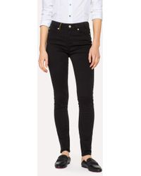 Paul Smith - Black Skinny-Fit Jeans - Lyst