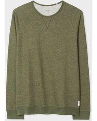 Paul Smith - Khaki Cotton Sweatshirt - Lyst
