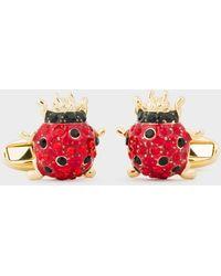Paul Smith - Ladybird Gold Cufflinks - Lyst