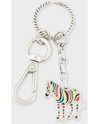 Paul Smith - Multi-Coloured 'Zebra' Keyring - Lyst