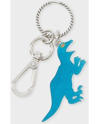 Paul Smith - Turquoise 'Dino' Keyring - Lyst