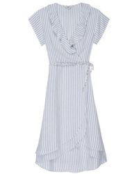 Rails - Louisa Wrap Dress - Lyst