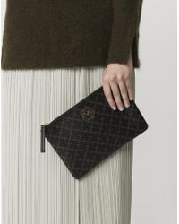 By Malene Birger - Dipp Dark Chocolate Pouch - Lyst