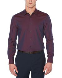 Perry Ellis - Big & Tall Iridescent Shirt - Lyst