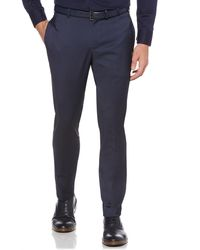 Perry Ellis - Very Slim Stretch Solid Tech Pant - Lyst