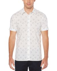 Perry Ellis - Big & Tall Short Sleeve Circle Shirt - Lyst
