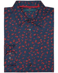 Perry Ellis - Petal Print Shirt - Lyst