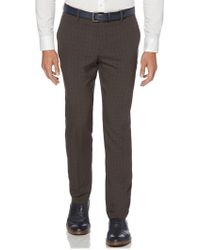 Perry Ellis - Slim Tonal Plaid Pant - Lyst