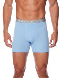 Perry Ellis - 3 Pack Identity Boxer Briefs - Lyst