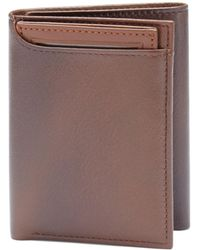 Perry Ellis - Card Pocket Trifold Wallet - Lyst