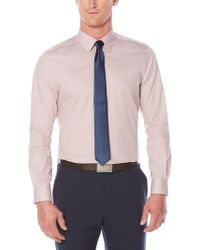 Perry Ellis - Big And Tall Non-iron Iridescent Twill Shirt - Lyst