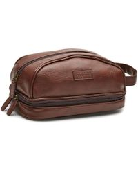 Perry Ellis - Double Compartment Travel Kit - Lyst