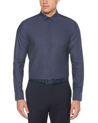 Perry Ellis - Resist Spill Solid Shirt - Lyst