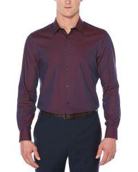 Perry Ellis - Big & Tall Iridescent Shirt - Lyst