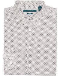 Perry Ellis - Big And Tall Mini Circle Shirt - Lyst