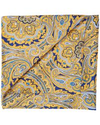 Perry Ellis - Paisley Pocket Square - Lyst