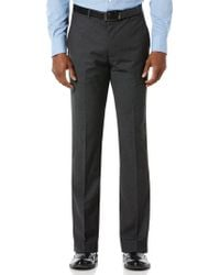 Perry Ellis - Slim Fit Neat Dress Pant - Lyst