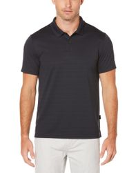 Perry Ellis - Short Sleeve Micro Stripe Polo - Lyst