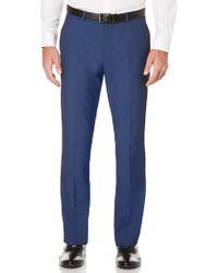 Perry Ellis - Slim Fit Subtle Iridescent Suit Pant - Lyst