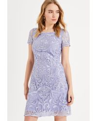 Phase Eight - Natalia Embroidered Dress - Lyst